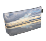 Light Language Parksville Beach Makeup Bag by Vanislegoddess.com is available in 2 sizes.