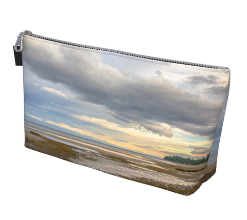 Miracle Beach Makeup Bag by Vanislegoddess.com is available in 2 sizes.