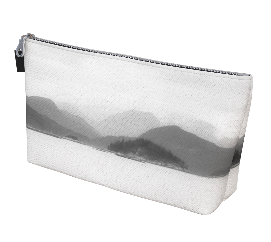 Pacific Mist Makeup Bag by Vanislegoddess.com is available in 2 sizes.