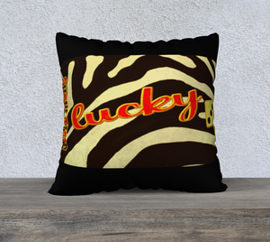 Lucky Las Vegas 22 x 22 Pillow Case