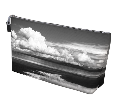 Parksville Beach makeup bag by Vanislegoddess.com is available in 2 sizes.