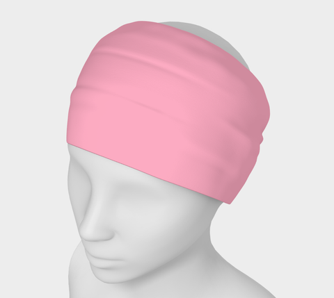 Island Goddess Pink Solid Colour Headband  Art meets the most versatile of fashion accessories. The headband.    You can wear it in so many different ways: a pony tail holder, hood, face mask, hat liner, wrist band, sun protector.   So easy to wear. Perfect for working out, staying warm, hiking, or as a pop of colour to add to any look.  Compact enough to fit in your pocket, purse, or back pack.  Makes a great gift idea too! By VanIsleGoddess.Com
