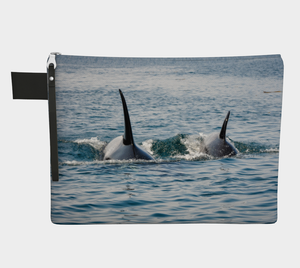 Orca's By My Side Adventure Tote Zipper Carry All