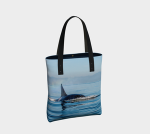 Orca Spray Tote Bag