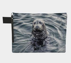 I Love Lucy Seal Vancouver Island Adventure Tote Zipper Carry All
