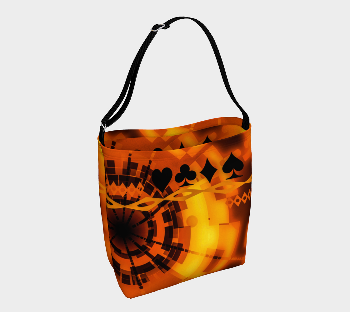 Nevada Dusk till Dawn Day II Tote Everyday Day Tote for Everything!  Van Isle Goddess ultimate tote bag!   Adjustable strap for comfort, the tote is made from soft and supple neoprene that stretches to fit whatever you can put in it!