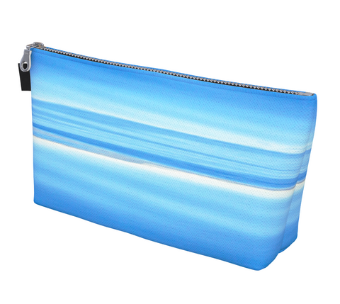 Ocean Blue Makeup Bag by Vanislegoddess.com is available in 2 sizes.