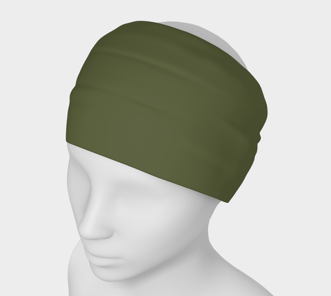 Enchanted Sea Anemone Green Solid Colour Headband  Art meets the most versatile of fashion accessories. The headband.    You can wear it in so many different ways: a pony tail holder, hood, face mask, hat liner, wrist band, sun protector.   So easy to wear. Perfect for working out, staying warm, hiking, or as a pop of colour to add to any look.  Compact enough to fit in your pocket, purse, or back pack.  Makes a great gift idea too! By VanIsleGoddess.Com