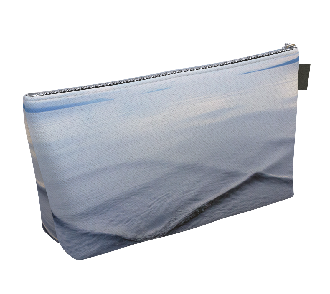 Dreamer Makeup Bag by Van Isle Goddess Vancouver Island available in 2 sizes.