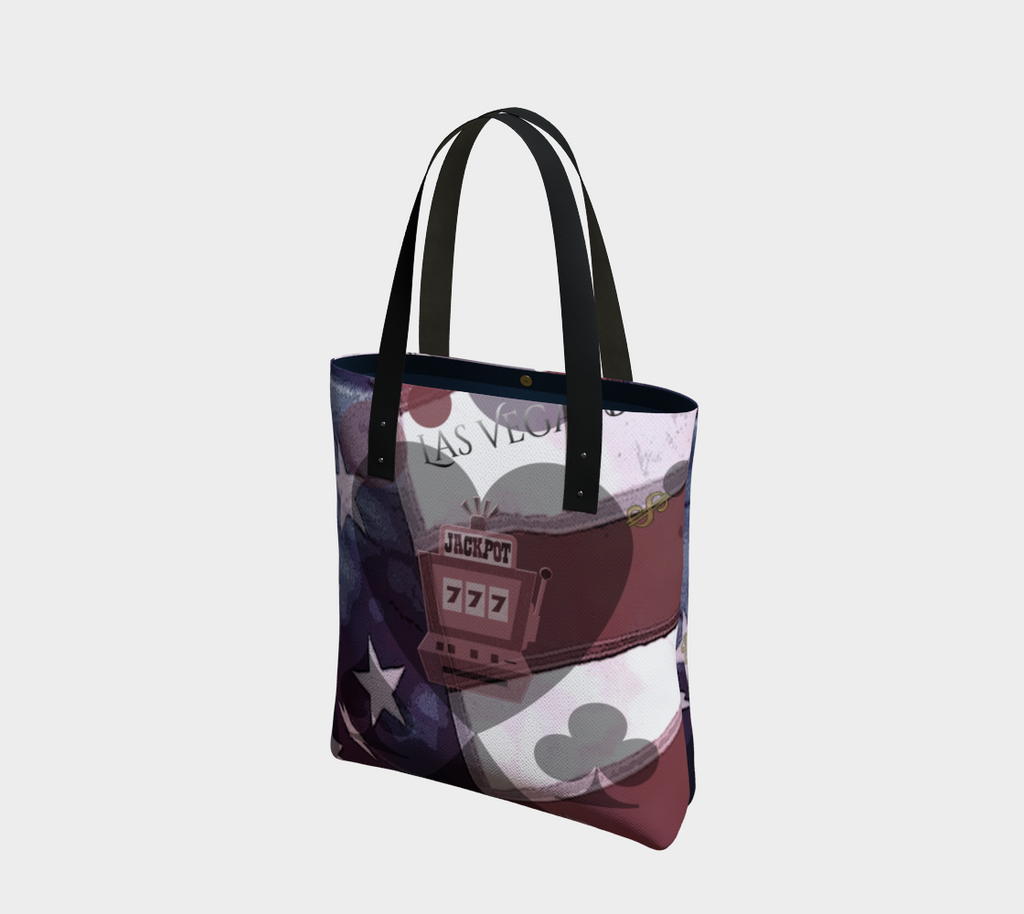 Viva Las Vegas Urban (lined) Tote Bag