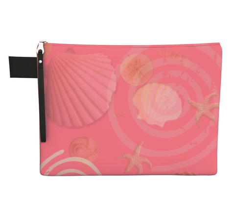 Island Goddess Rose Zipper Carry All by Vanislegoddess.com available in 4 sizes.