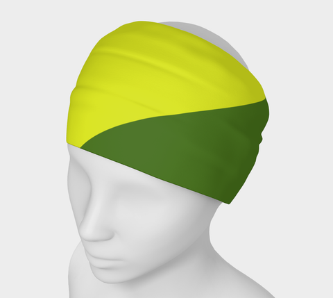 Canopy of Leaves Solid Colour Headband  Art meets the most versatile of fashion accessories. The headband.    You can wear it in so many different ways: a pony tail holder, hood, face mask, hat liner, wrist band, sun protector.   So easy to wear. Perfect for working out, staying warm, hiking, or as a pop of colour to add to any look.  Compact enough to fit in your pocket, purse, or back pack.  Makes a great gift idea too! By VanIsleGoddess.Com