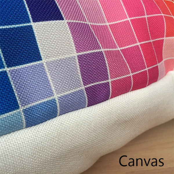 Canvas velveteen fabric