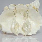 Dream Stone Island Goddess Seashell Earrings