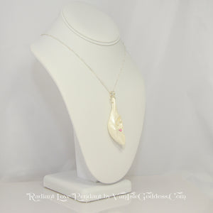 Radiant Love Island Goddess Seashell Pendant