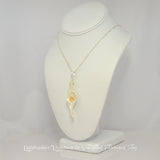 Lightmaker Island Goddess Seashell Pendant