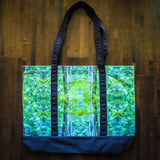 Limited Edition Old Growth Forest Tote Bag VanIsleGoddess.Com