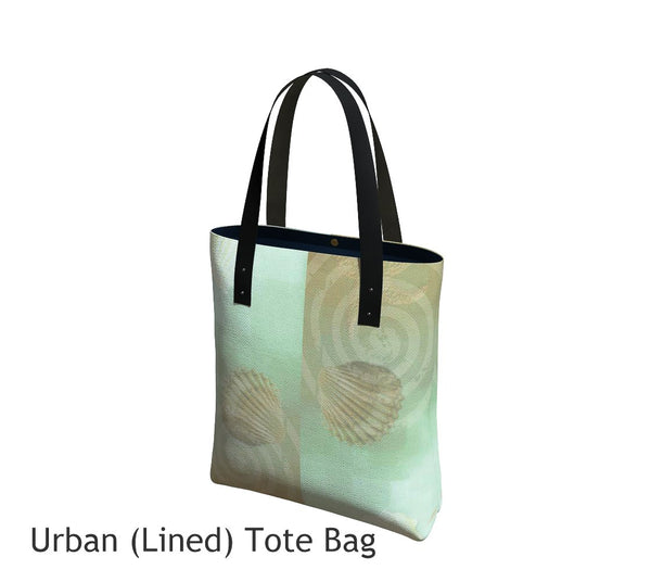 Island Goddess Basic and Urban Tote Bags featuring printed artwork by Roxy Hurtubise.