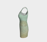 Island Goddess Body Contour Dress Leftside