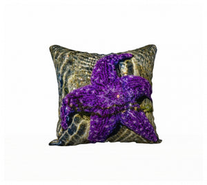 Amazing Starfish 18 x 18 Pillow Case