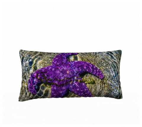 "Amazing Starfish 24"" x 12"" Pillow Case"