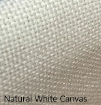 Natural White Canvas Sample