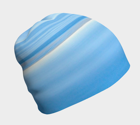 Ocean Blue Artwork Beanie by Roxy Hurtubise