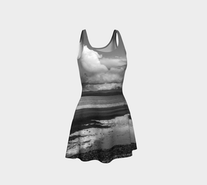 Parksville Beach Flare Dress Front