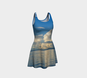 Qualicum Beach Flare Dress Front