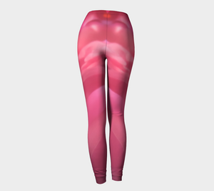 Soft Rose Leggings by Roxy Hurtubise back