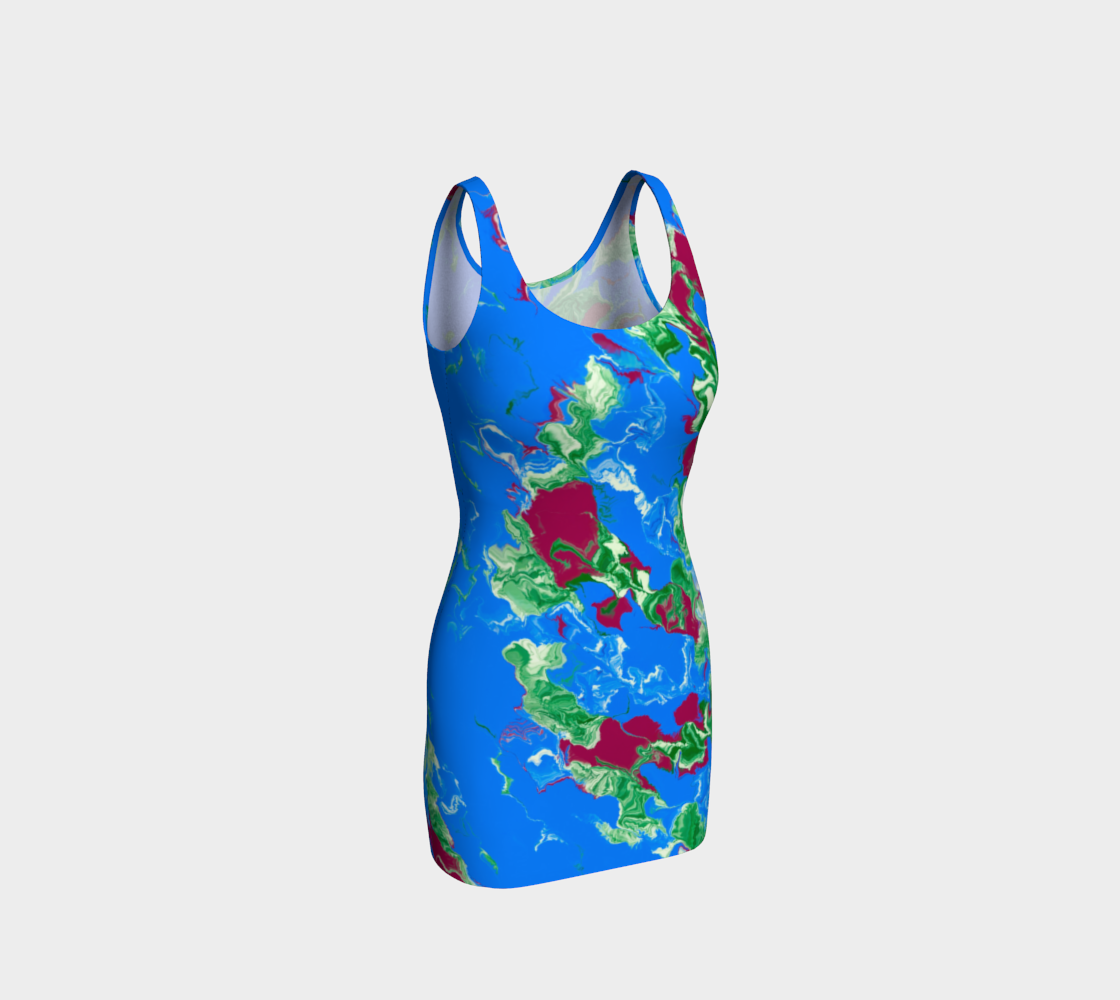 Summer Air Body Contour Dress Front