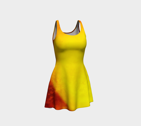 Sunrise Flare Dress Front