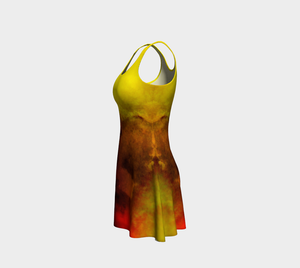 Sunrise II Flare Dress Leftside