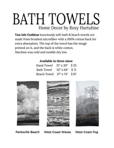 Ebb & Flow Bath & Beach Towels