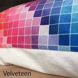Velveteen Pillow Sample