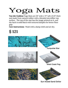 Orca Spray Yoga Mat