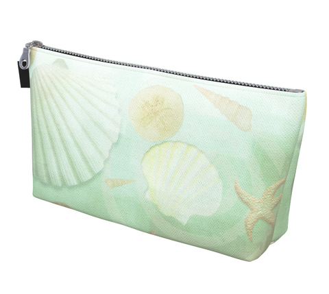 Island Goddess Makeup Bag by vanislegoddess.com is available in 2 sizes