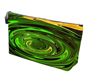 Concentric Makeup Bag by Vanislegoddess.com is available in 2 sizes.