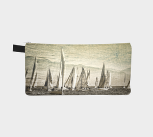 Yacht Race Multi Use Storage Pencil Case