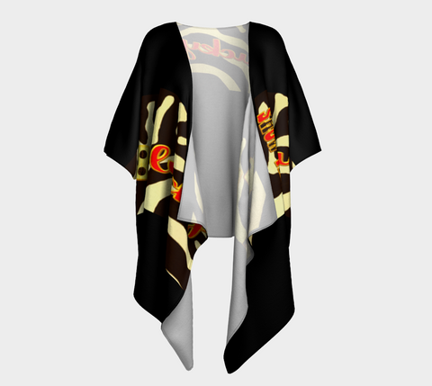 Lucky Las Vegas Kimono Robe Our printed kimono robes give you a lot to love when lounging around. Choose between the softness of our silky knit, or style it up with our transparent peek-a-boo chiffon fabric. By Van Isle Goddess