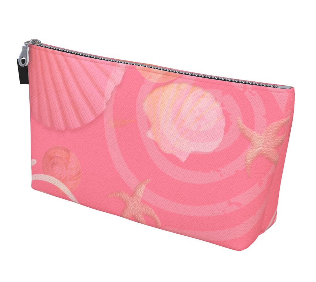 Island Goddess Rose Makeup Bag by VanIsleGoddess.Com is available in 2 sizes.
