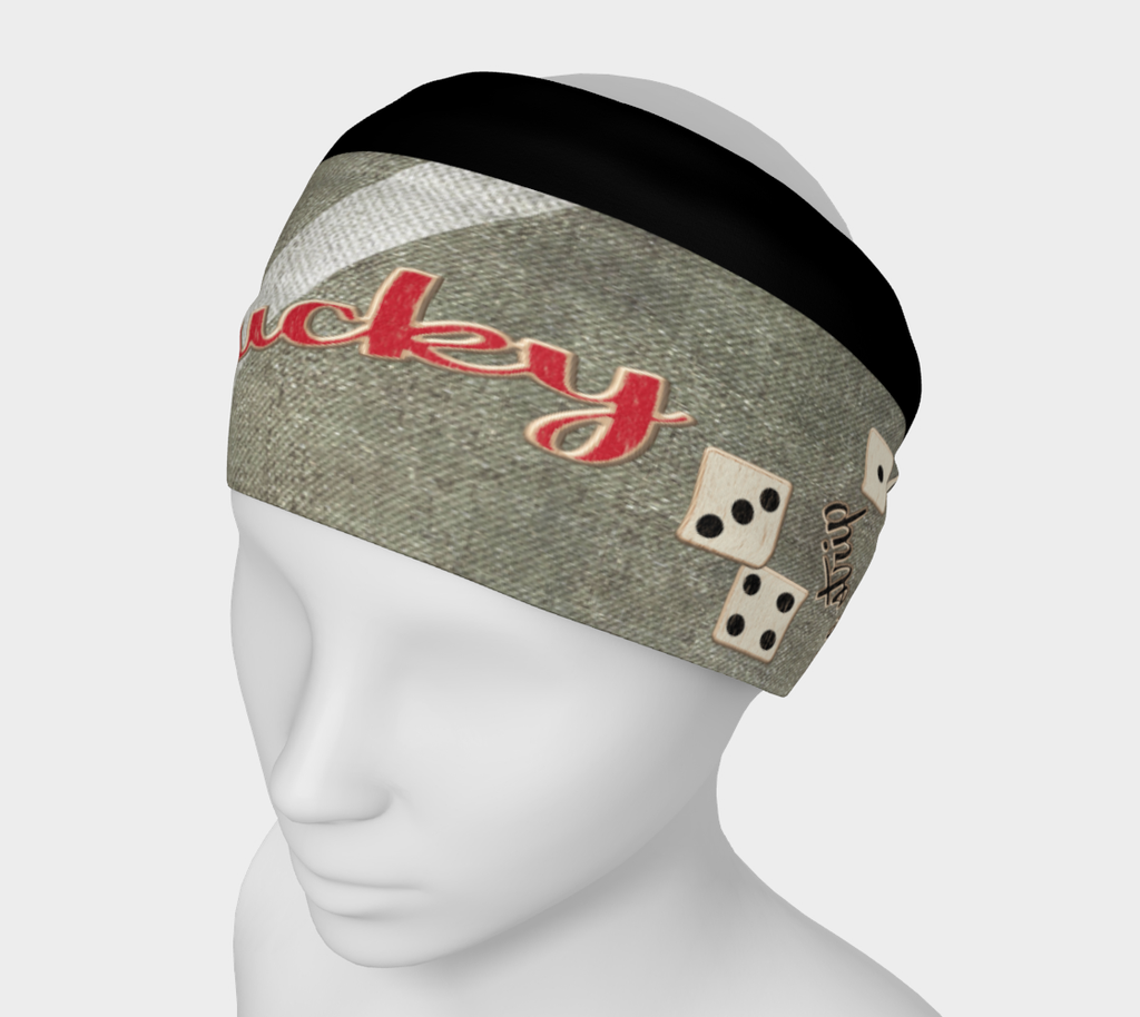 The Strip Las Vegas Headband  These headbands are so versatile! Scrunch it or fold it over to use as a headband, wear it like a bandanna, or as a face warmer while hitting the slopes or tearing down the bike path! by vanislegoddess.com
