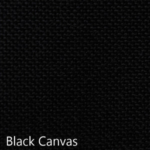black canvas fabric selection
