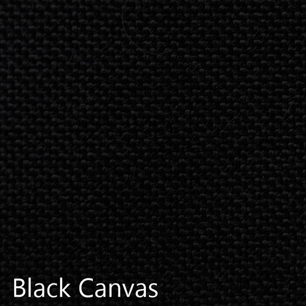 black canvas fabric