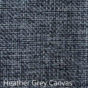 Heather Gray Canvas Fabric Selection