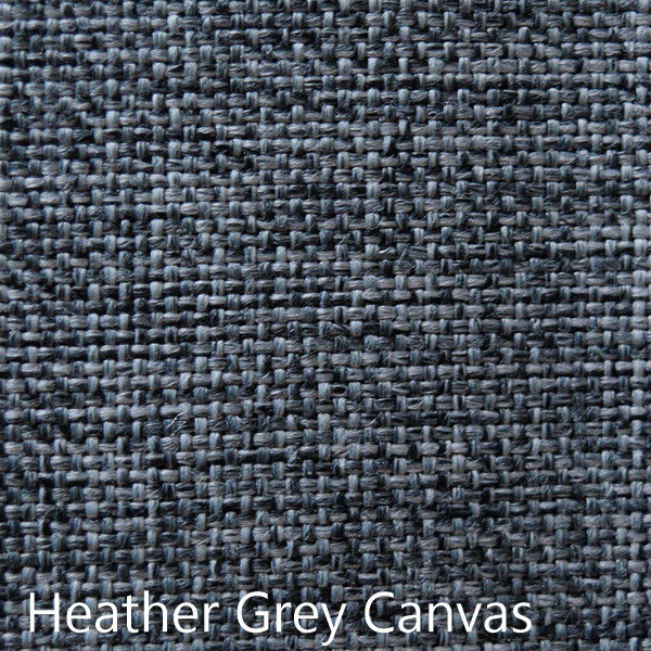 Heather Grey canvas fabric selection