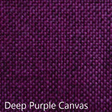 deep purple canvas fabric
