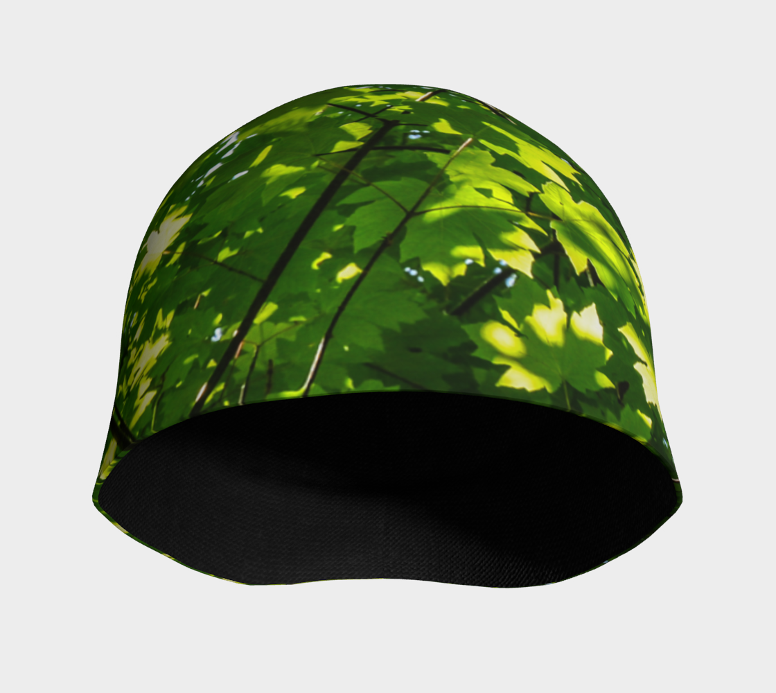 Canopy of Leaves Beanie by Roxy Hurtubise Van Isle Goddess