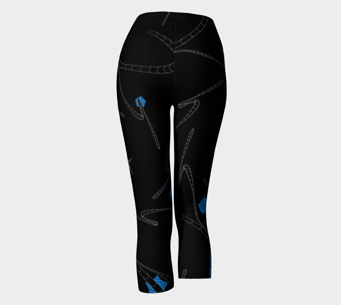 Night Star Capris Back