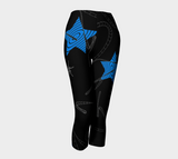 Night Star Capris by Van Isle Goddess of Vancouver Island